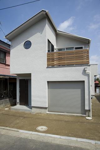 丸窓の家1