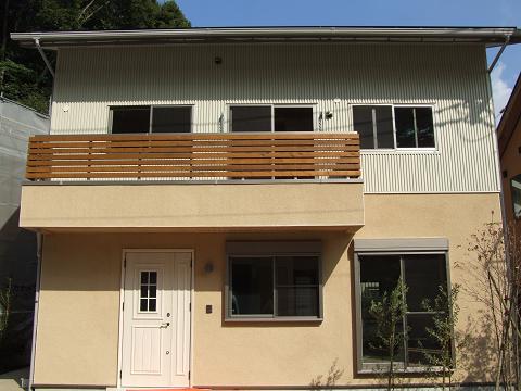 鎌倉ブランコの家1